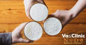 Return to normalcy at NoDa Brewing = vaccinations & events