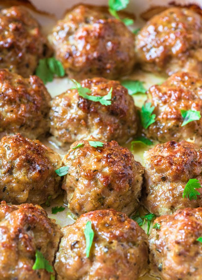 PERFECT Chicken Meatballs