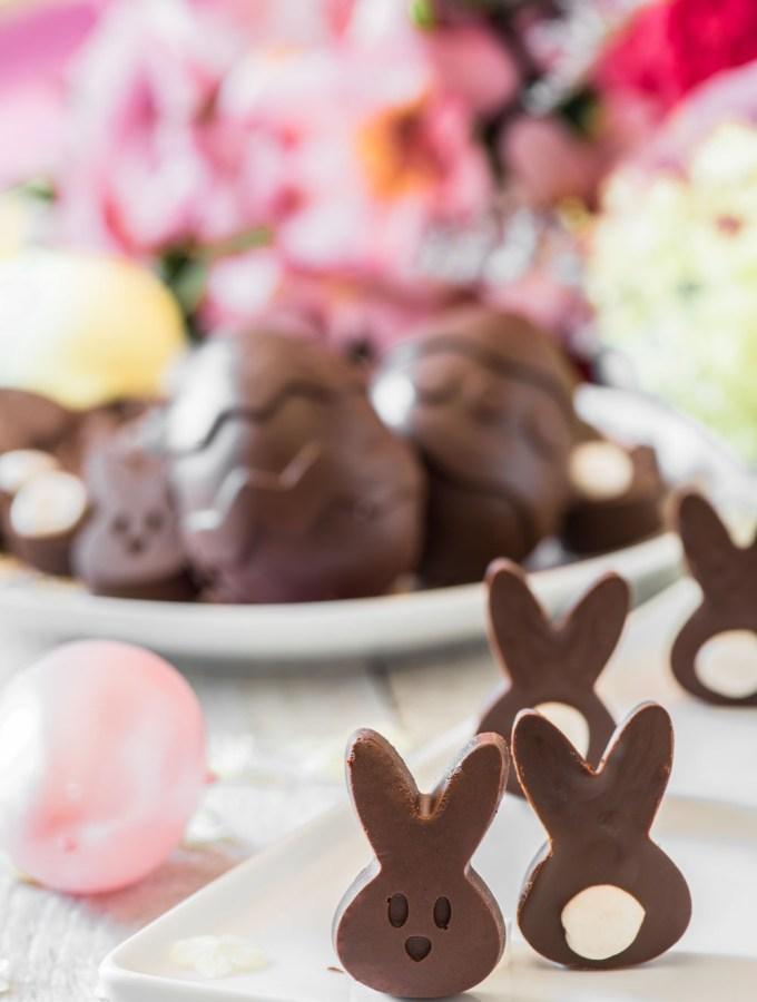 Mini Chocolate Easter Bunnies