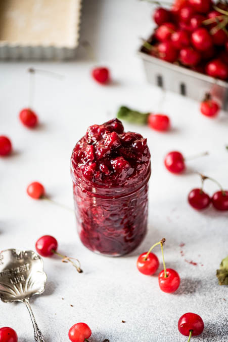 Zero Sugar Allergy Free Cherry Pie Filling