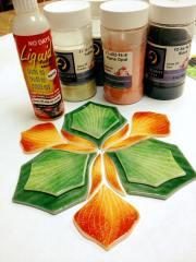 no days liquid fusing adhesive glass powders