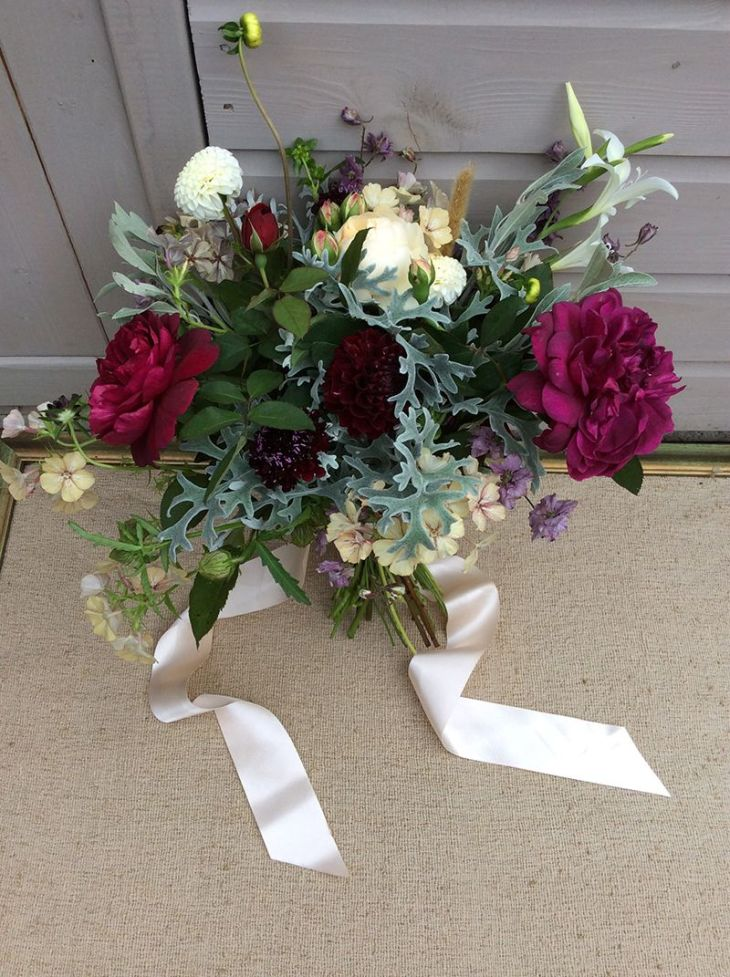 English roses bouquet
