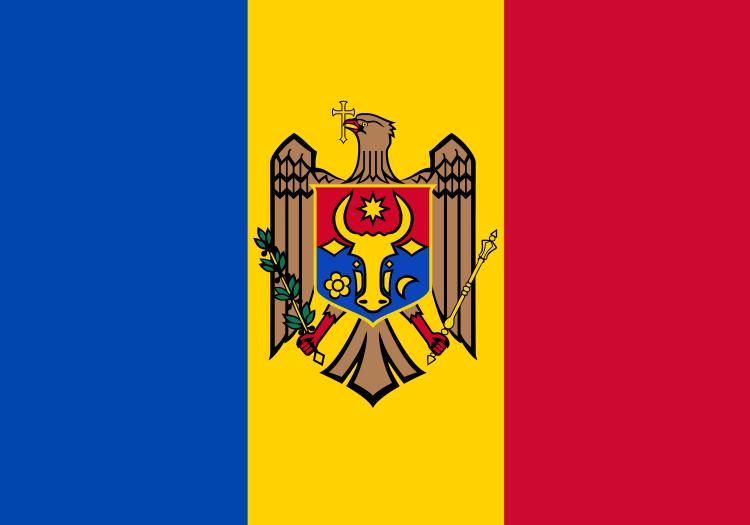 Drapeau Moldavie - Acheter Drapeau Moldave pas cher
