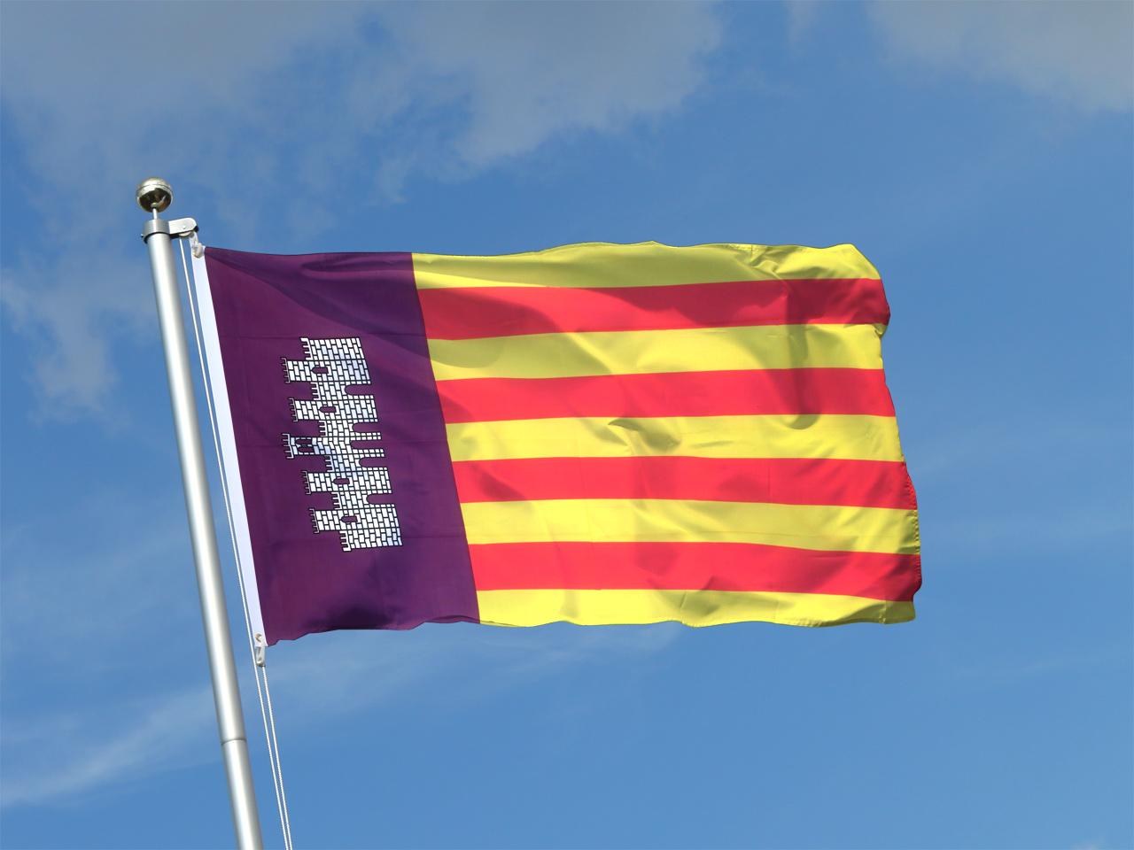 mallorca flagge mallorcinische fahne
