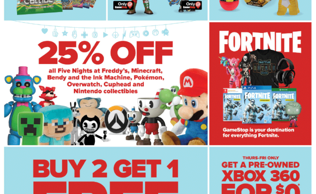 Gamestop Black Friday 2018 Ad Deals And Sales Savings