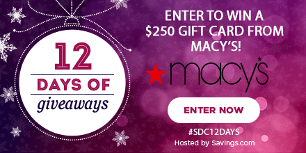 Win a gift card from Macy's!