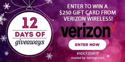 Win a gift card from Verizon Wireless!