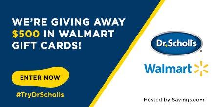 Win a $50 Walmart gift card!