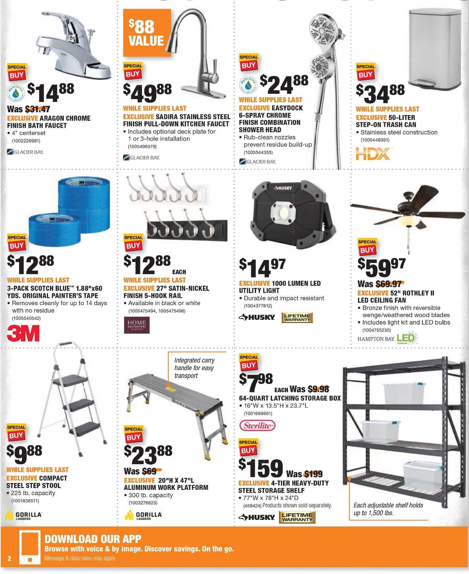 Shopper Home Depot Pr : shopper, depot, Black, Friday, Puerto, Depot, Shopper, Decor