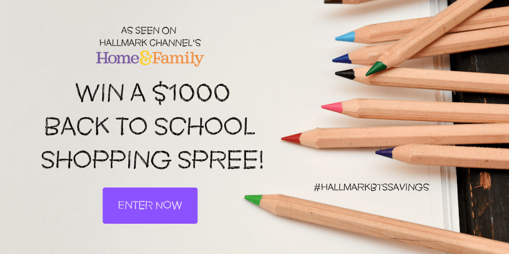 Win a $1000 back to school shopping spree!