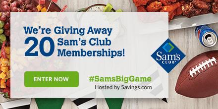 Win a Sam's Club Membership!