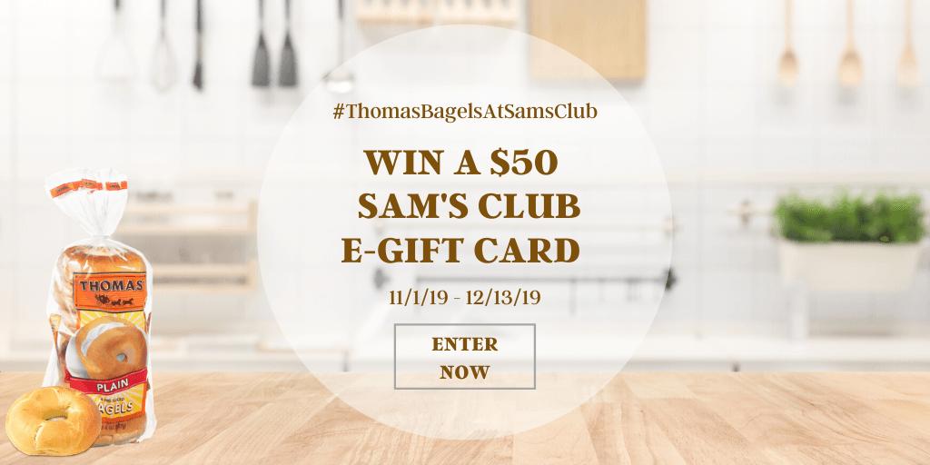Win a $50 Sam's Club Gift Card!