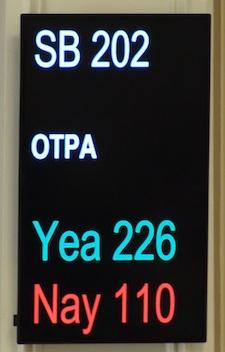 SB202 Vote