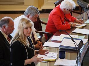 Senator Donna Soucy et al in Vote on HB1170