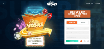 Slotty Vegas Casino - Homepage