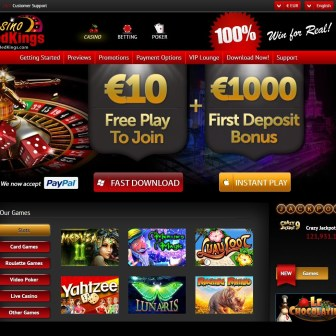 Casino Redkings - Homepage