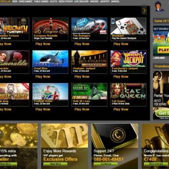 EuroGrand Casino lobby