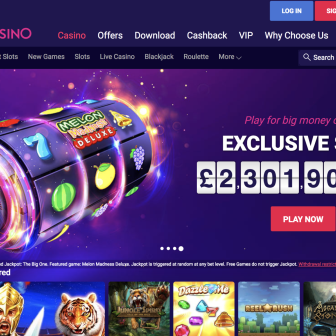 Party Casino - homepage