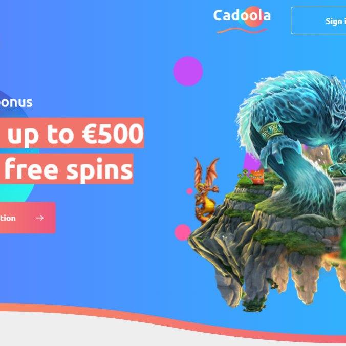 Cadoola Casino - Homepage