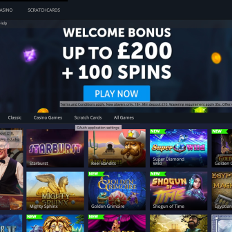 Fortune Jackpots Casino - Homepage
