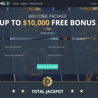 Roaring 21 Casino - Homepage
