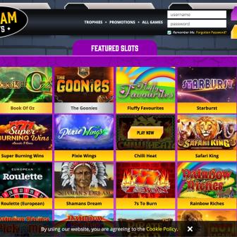 Gotham Slots Casino - Games
