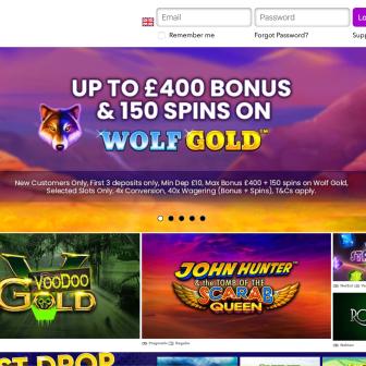Watch My Spin Casino Homepage