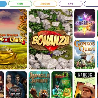 Peachy Games Casino - Games