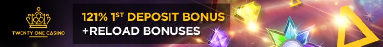 21 casino free spins no deposit banner