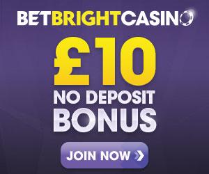 BetBright casino no deposit bonus