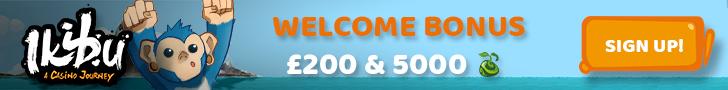 Ikibu Casino bonus banner