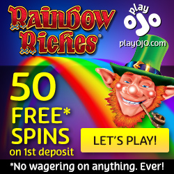 Play OJO Casino free spins no wagering