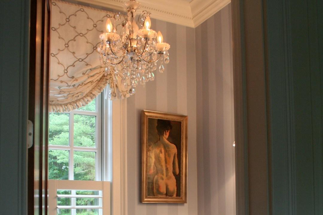 Elegant Powder Room in Princeton