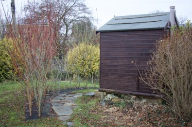path to the compost loo