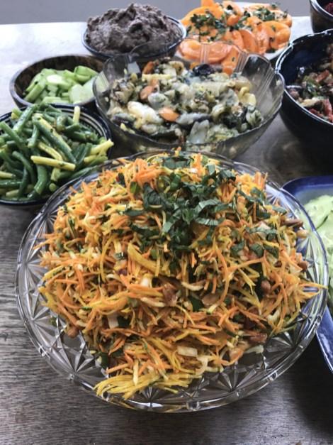 Thai inspired salad