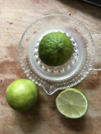 juice of 2 limes