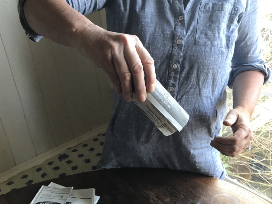how to make paper pots, no dig, organic gardening, reduce plastic