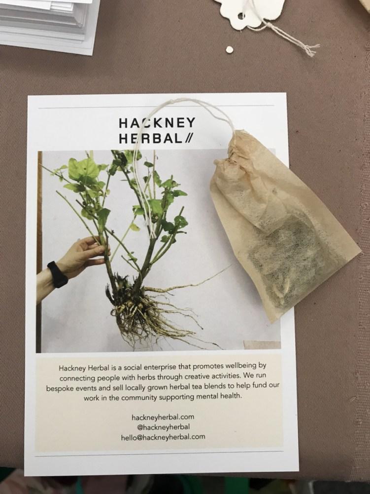 Making my own herbal teabag