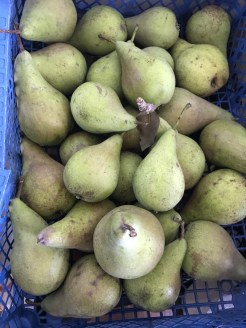 another crate of pears