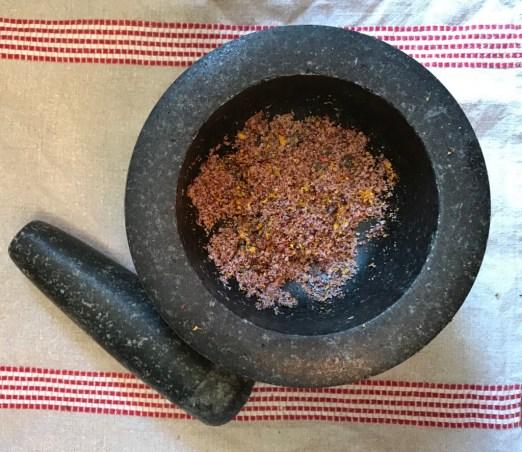 nasturtium flower salt
