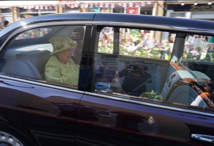 Queen on Bruton high street - photo: Simon Taylor