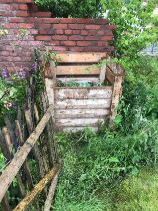 there was even a compost bin