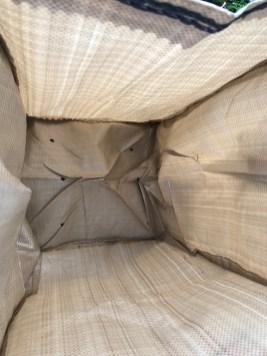 Inside the grow bag
