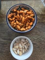 Czar beans - plain and spiced