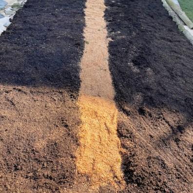 sawdust path