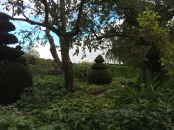 Entrance to the kitchen garden