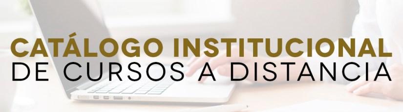 Catálogo de Institucional de Cursos a Distancia