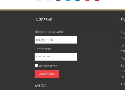 Registro en nodo paso 2