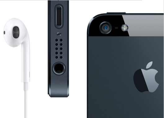 iPhone 5 conector y audifonos