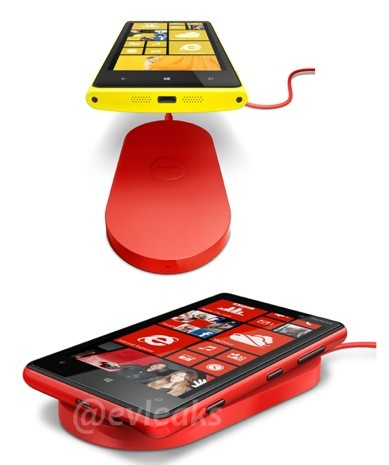 Nokia Lumia 920 wireless cargador
